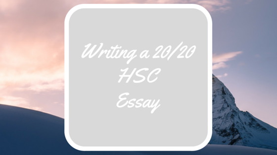 writing a hsc essay triple a tutoring